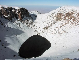 Crater Lake of Licancabur, Chile. Photo by Albert Backer (Creative Commons)