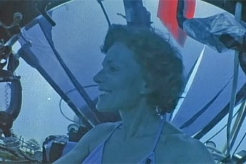 Dr. Sylvia Earle aboard the Deep Rover submersible. Video still from Profile: Sylvia Earle - KQED QUEST (YouTube | Fair Use)