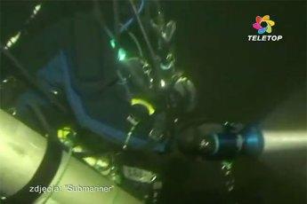 Dariusz Wilamowski during a deep dive. Video still from YouTube (View below | Fair Use)