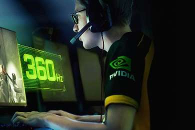 Nvidia Shows off World first 360Hz monitor with G-Sync 1080p Designed for Esports 1