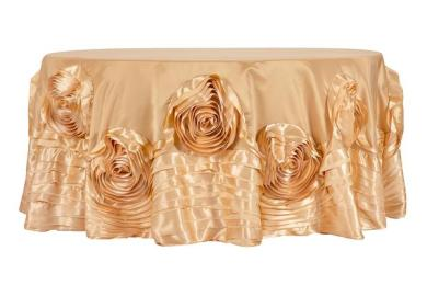 Parties table cloths offered by CV Linens 2