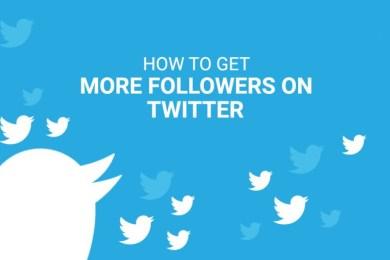 Get Twitter Followers Easily