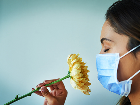 Mental health impact of losing smell and taste due to COVID-19