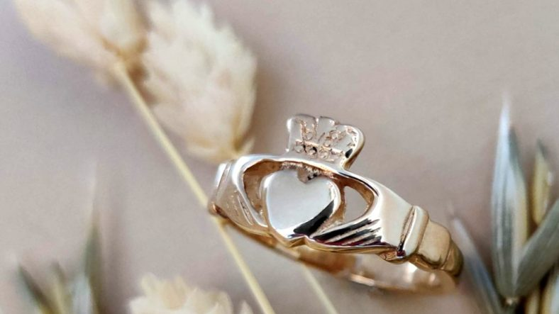 The Romantic History of The Claddagh Ring