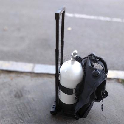 Căruț transport butelii Scubapro