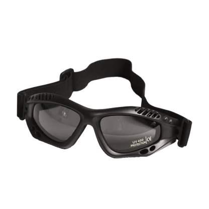 Ochelari protecție Mil-Tec Commando Smoke, negri
