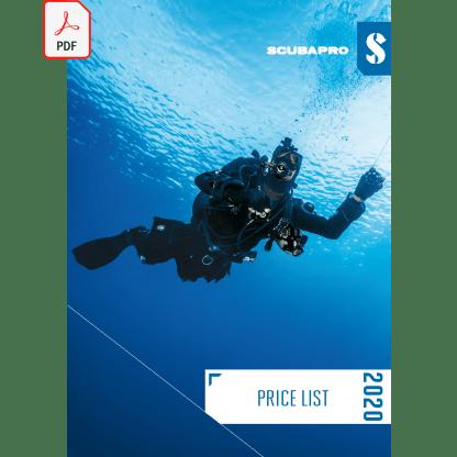 Catalog 2020 Scubapro retail, lb. engleză