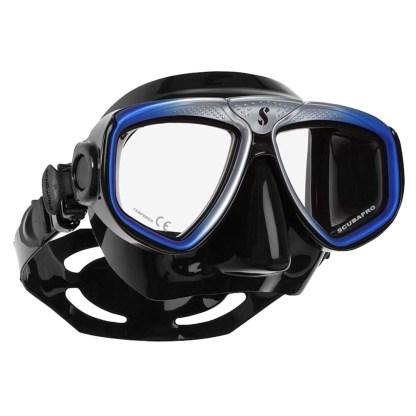 Vizor Scubapro Zoom Evo, negru-albastru