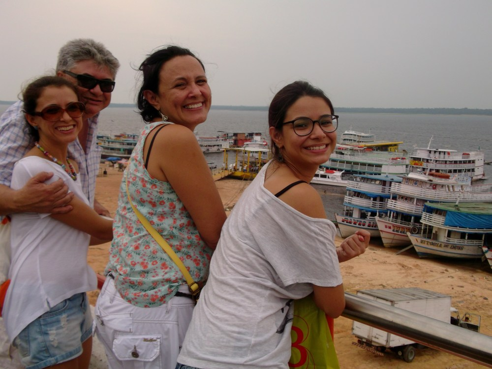 Travelling in a regional ship in Amazonas  (3/6)