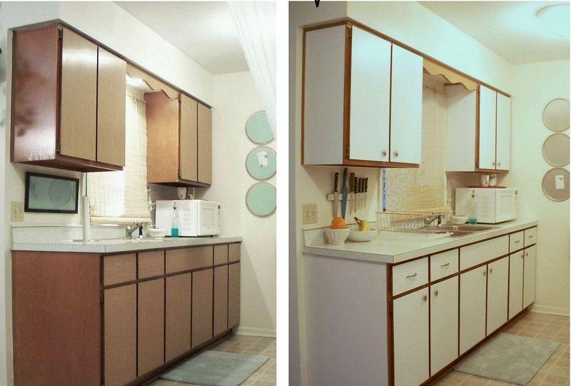 Reciclar Muebles De Cocina | Forrar Los Armarios De La Cocina Con Vinilo Tendencias Marzo 2019