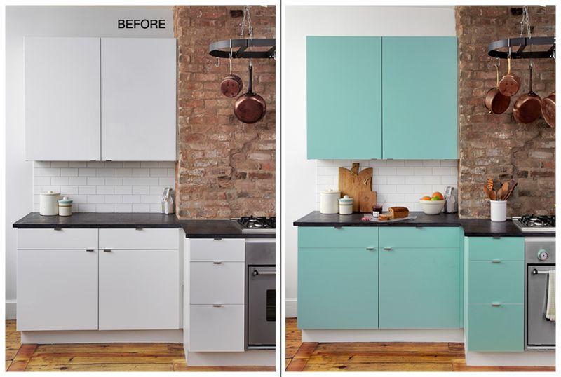 Forrar los armarios de la cocina con vinilo (tendencias junio 2018)