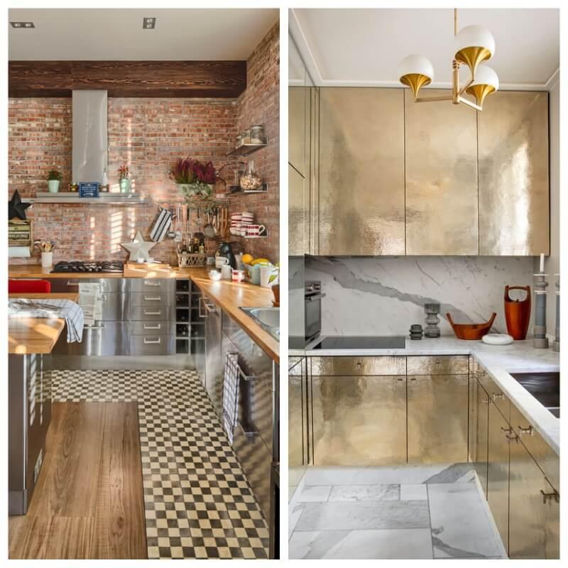 Excelente Puertas De Los Armarios De La Cocina Festooning - Ideas de ...