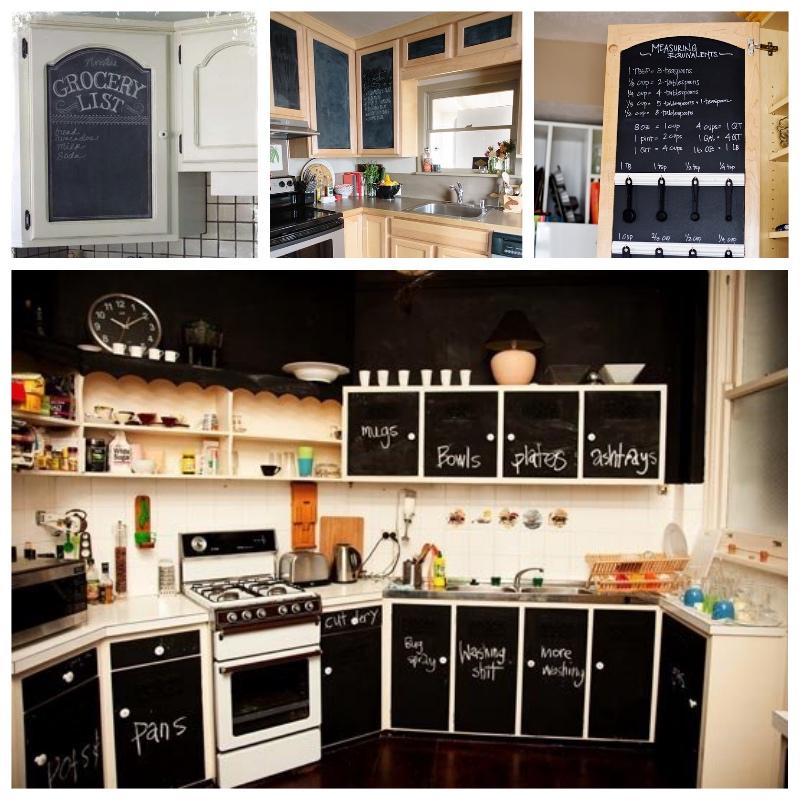 Forrar los armarios de la cocina con vinilo tendencias - Cocinas con vinilos ...