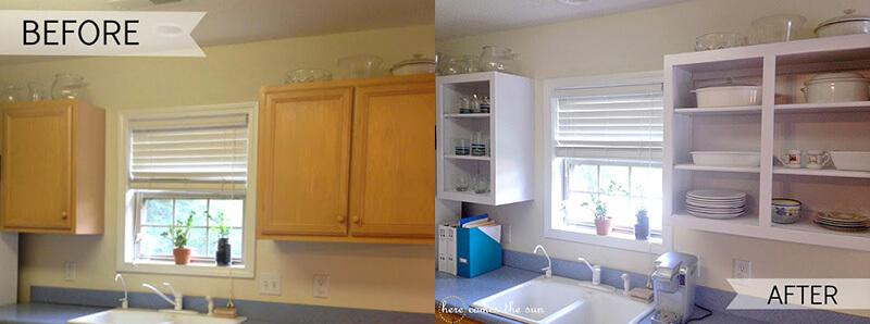 Forrar los armarios de la cocina con vinilo (tendencias febrero 2019)