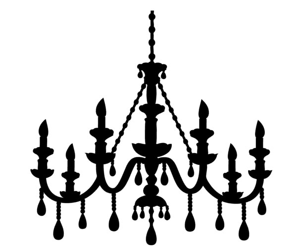lámpara vintage Silhouette