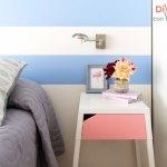 Cómo decorar un dormitorio con rosa cuarzo y azul serenity en menos de una hora