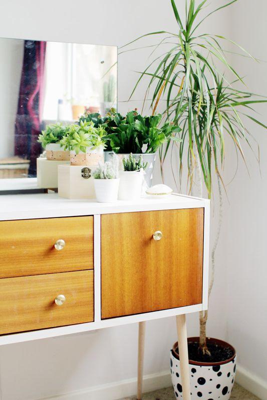 mueble forrado con vinilo