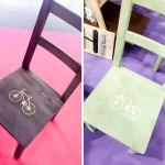 Cómo decorar tus muebles con plantillas de vinilo
