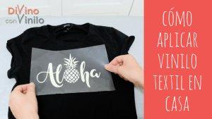 cómo aplicar vinilo textil en casa paso a paso