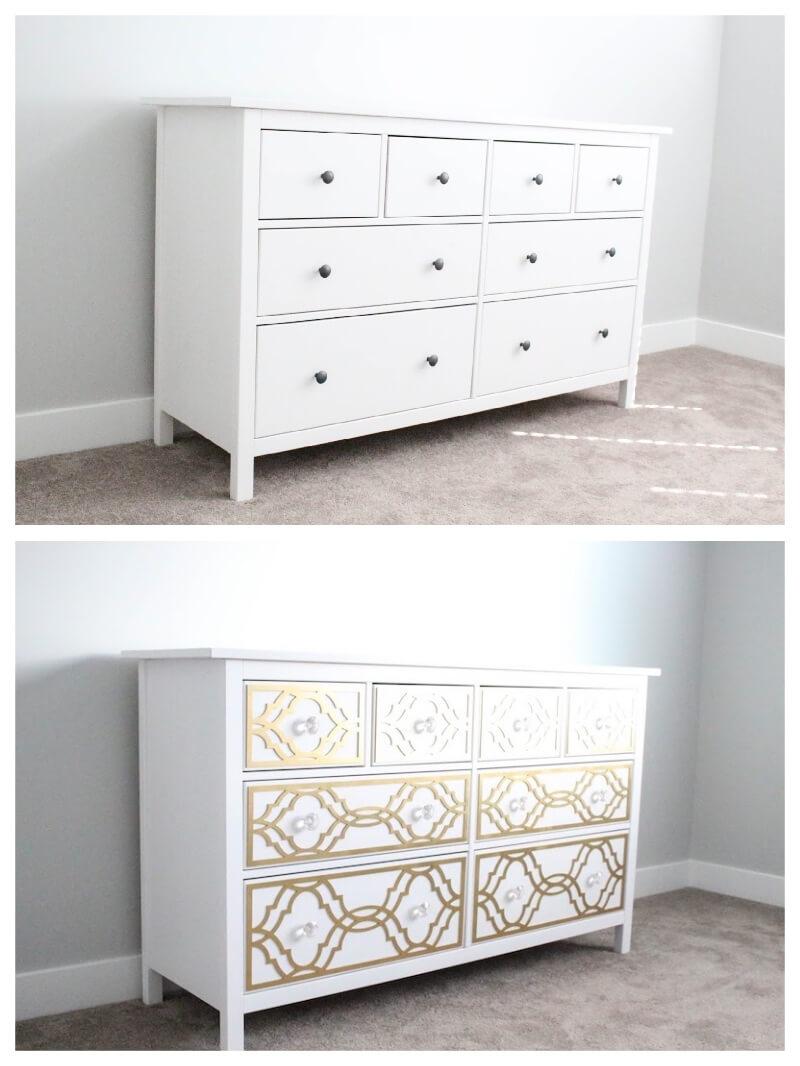 Las Mejores Ideas Para Tunear Muebles De Ikea Con Vinilo # Muebles Tuneados
