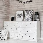 12 ideas para tunear muebles de Ikea con vinilo autoadhesivo