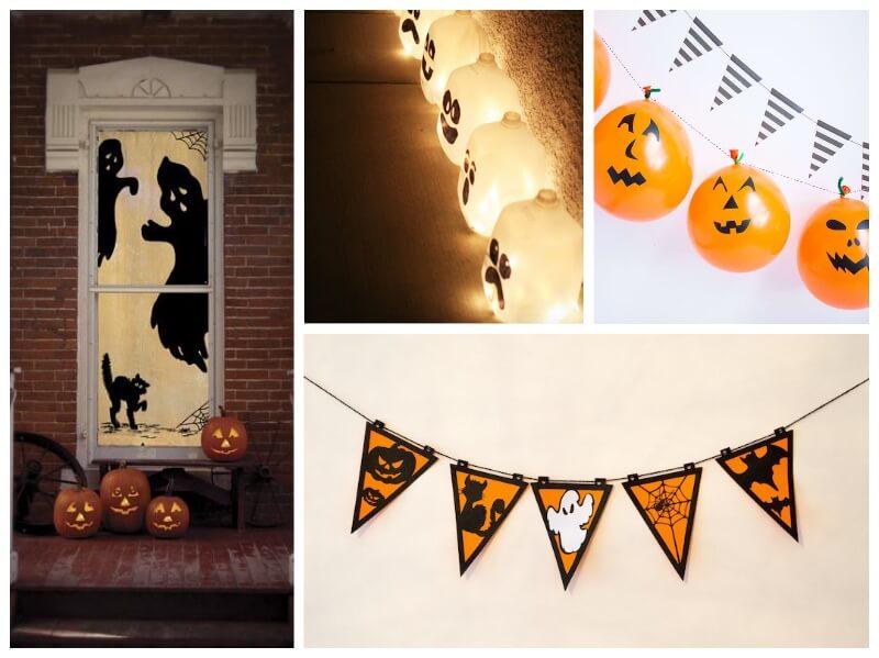 ideas para Halloween con vinilo adhesivo