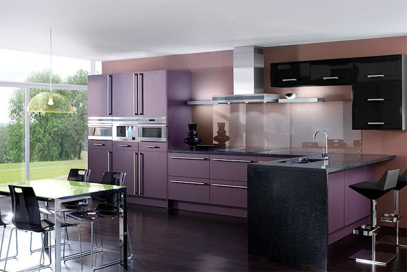 forrarr armarios de la cocina con ultra violet