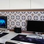Cómo hacer un panel LED forrado con vinilo decorativo