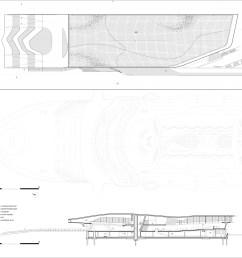 zaha hadid architects h l ne binet hufton crow salerno maritime terminal [ 2886 x 2000 Pixel ]
