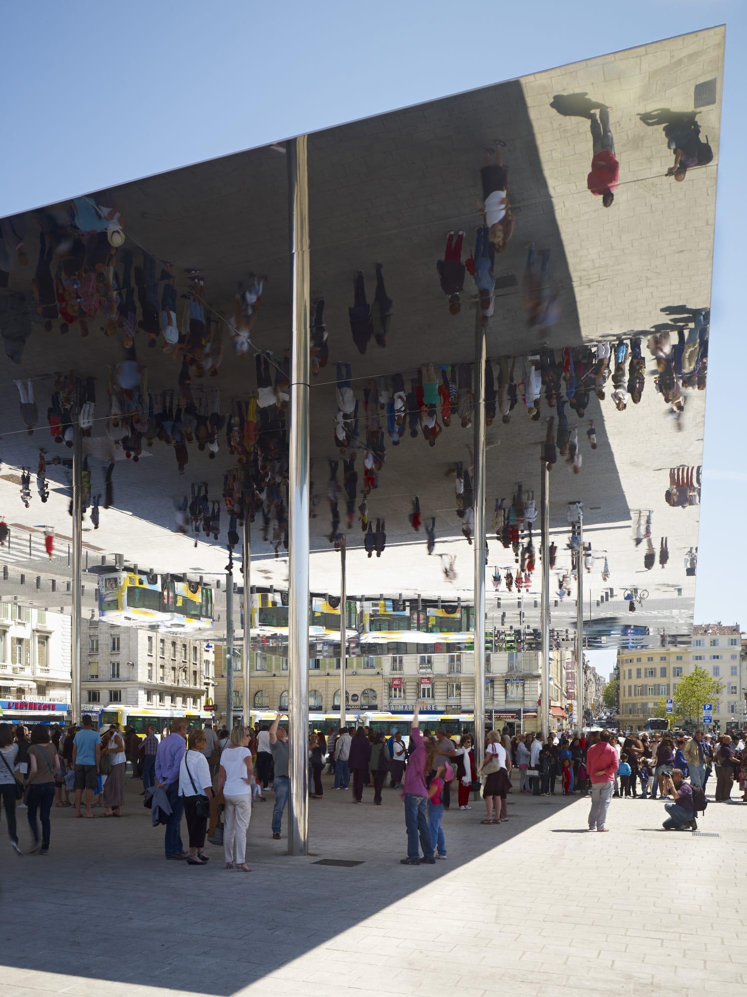 Quai De La Fraternité Marseille : fraternité, marseille, Foster, Partners,, Michael, Moser,, Nigel, Young, Marseille, Vieux, Pavilion, Divisare