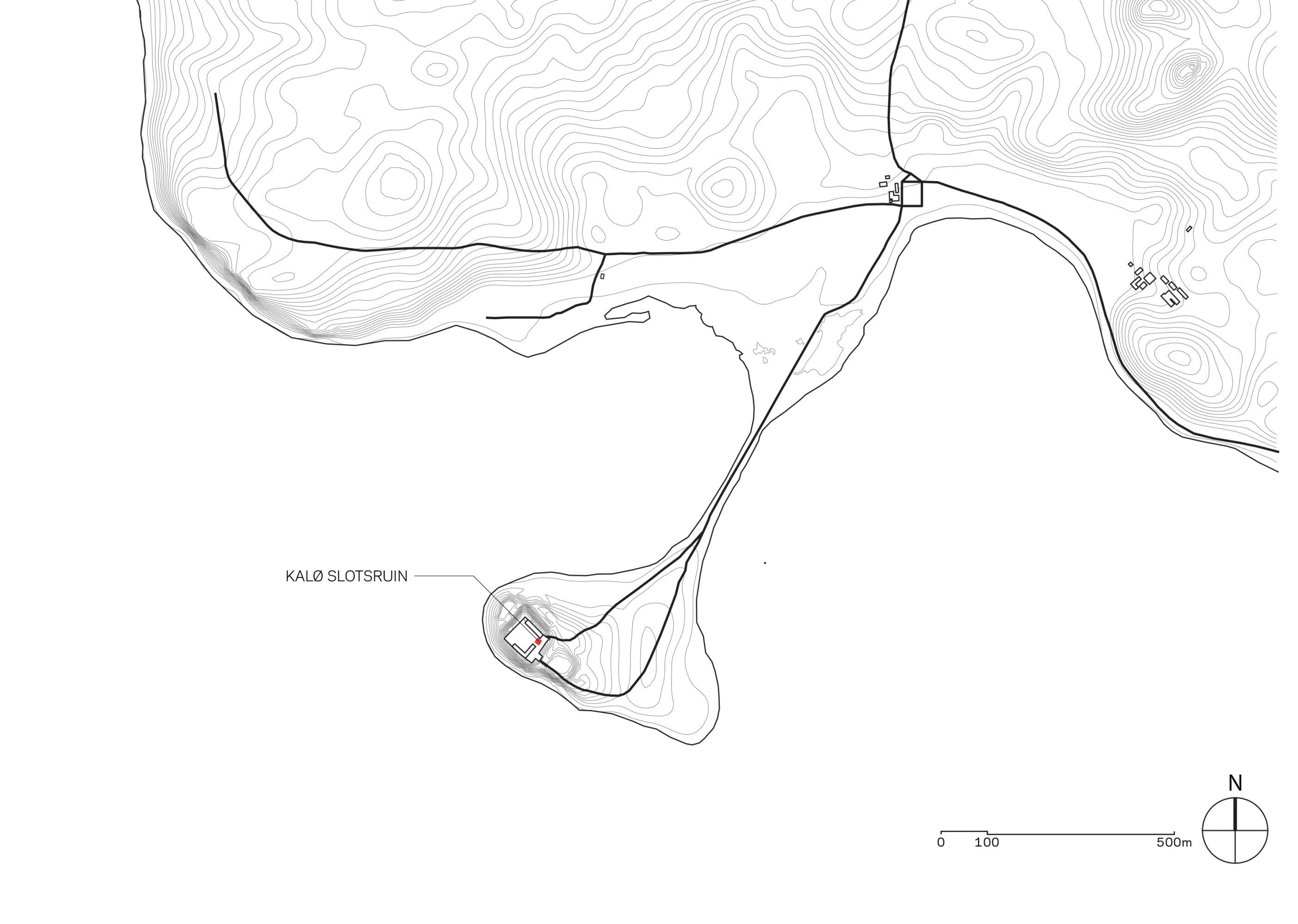 MAP Architects · Kalø Slotsruin visitor access · Divisare