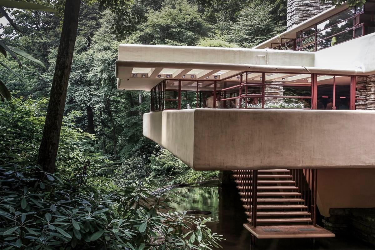 Frank Lloyd Wright Ori Rittenberg · Falling Water · Divisare   Frank Lloyd Wright Stairs   Basement   Dorm   Design   Obras   Floor Plan