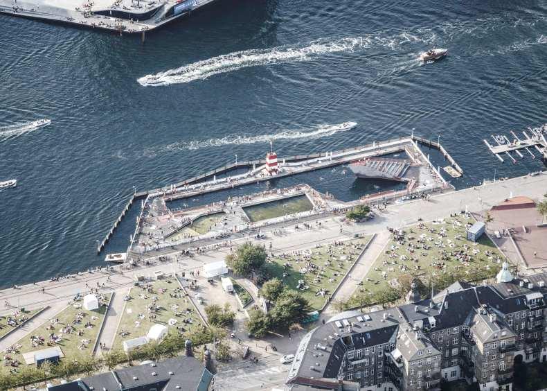 BIG, JDS/JULIEN DE SMEDT ARCHITECTS, Rasmus Hjortshøj - COAST · BAD -  Copenhagen Harbour Bath · Divisare