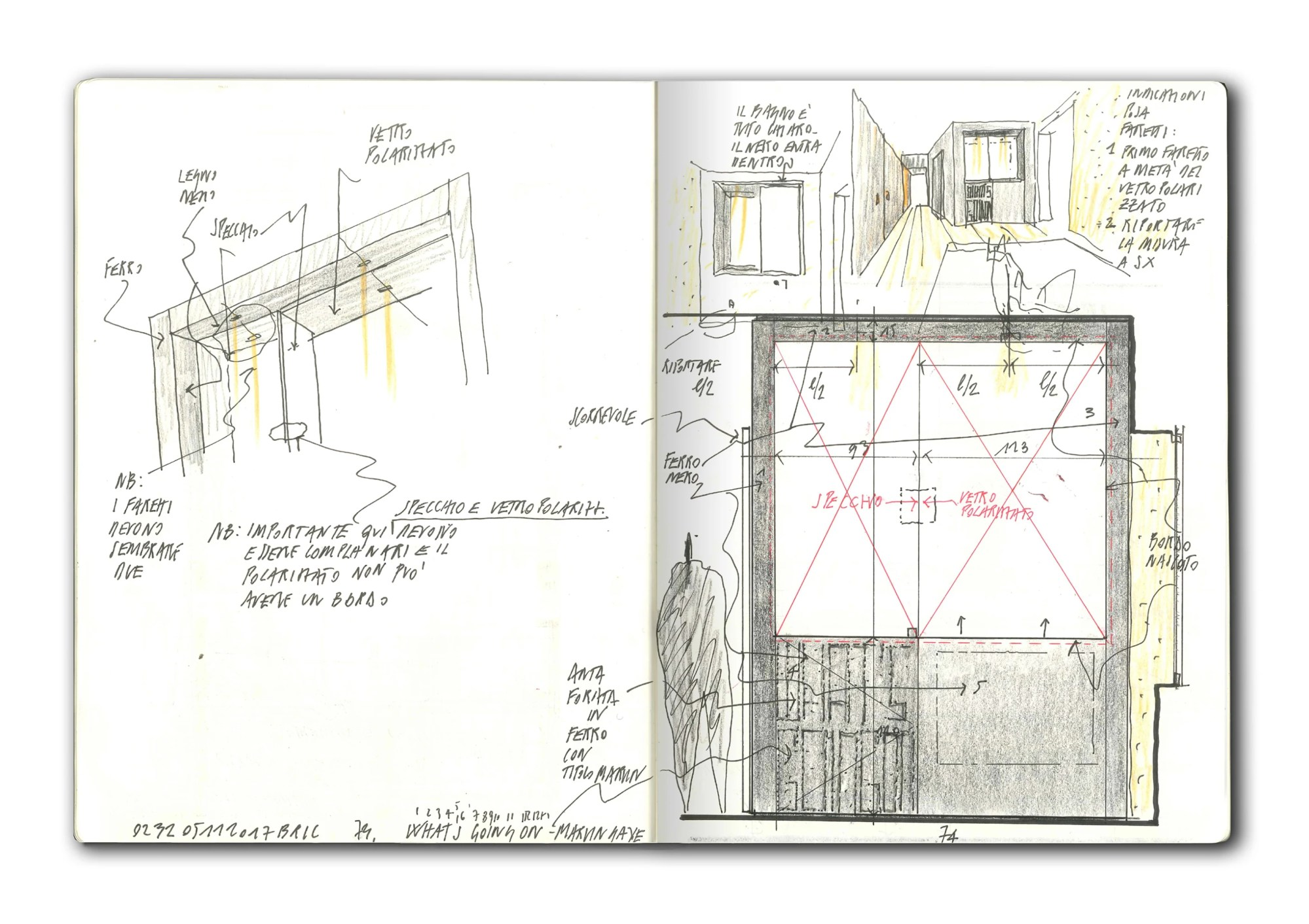 hight resolution of bricolo falsarella atelier xyz verona penthouse