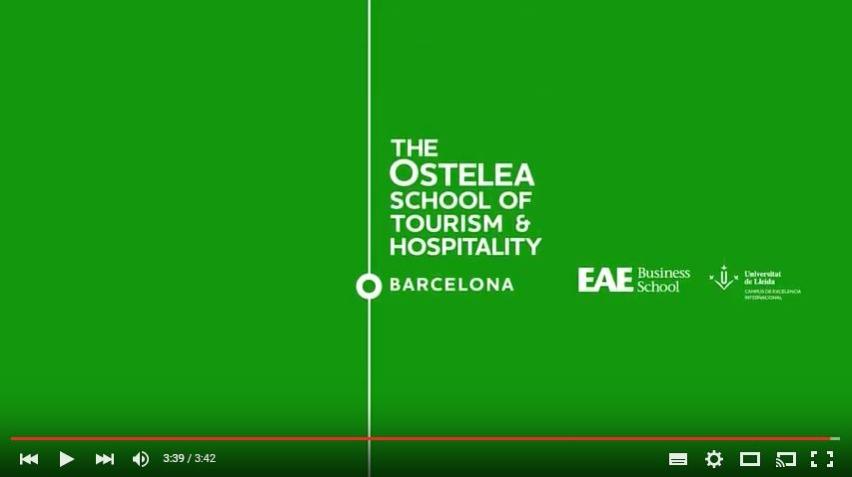 Sèrie de vídeos per Ostelea School of Tourism & Hospitality