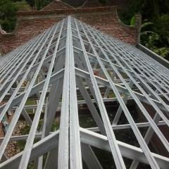 Jarak Reng Baja Ringan Atap Galvalum Description Proses Pemasangan Rangka 1