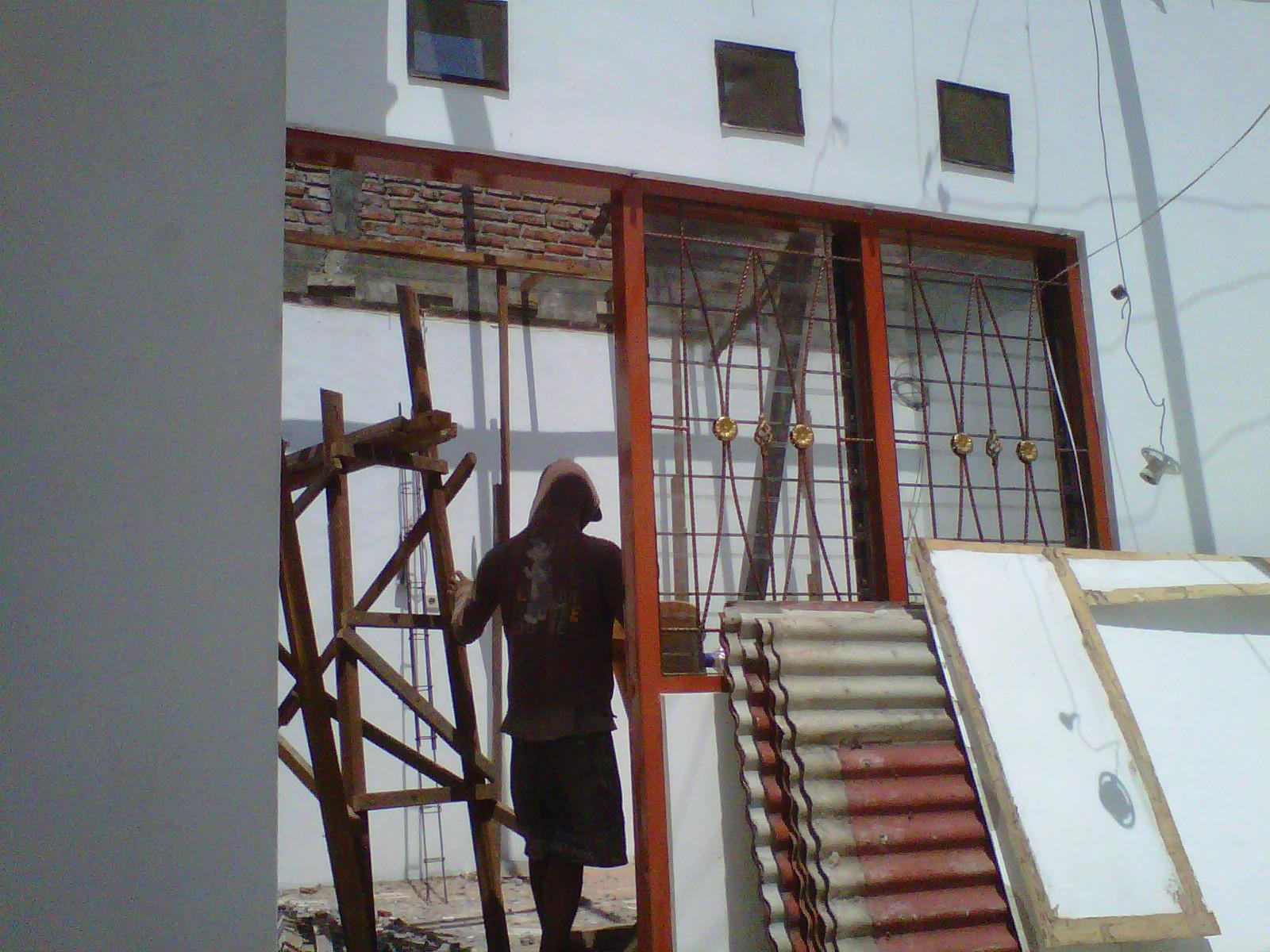 kanopi baja ringan di bali renovasi rumah kuda kayu kena rayap – cahaya makmur ...