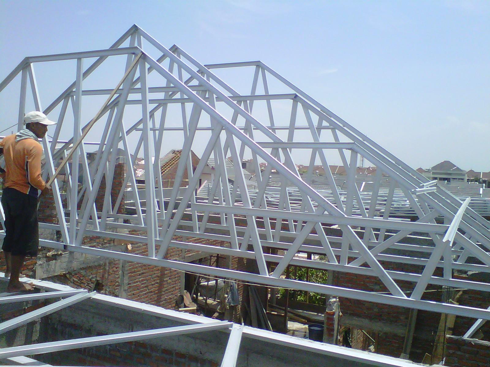 harga rangka atap baja ringan di malang post galvalum deltasari raya utara ...
