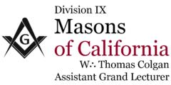 Masons of California – Division IX