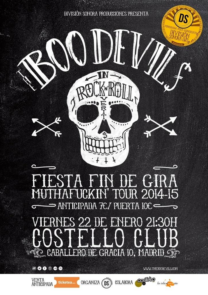 THE BOO DEVILS Fiesta Fin de Gira Muthafuckin' Tour