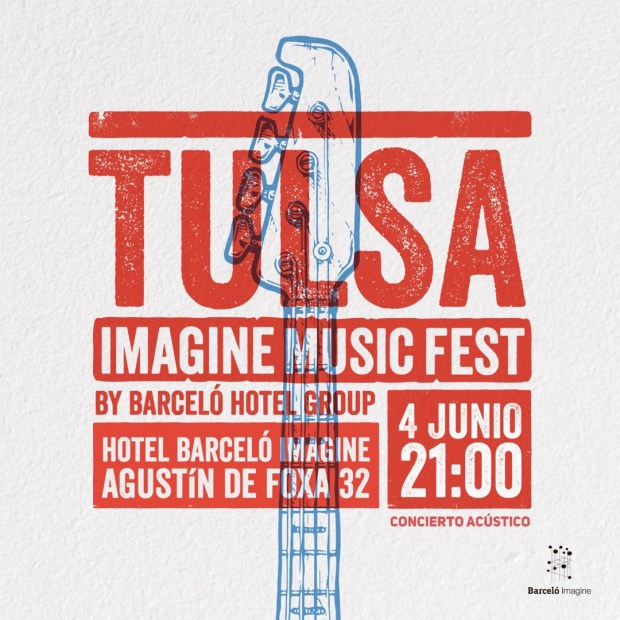 TULSA en acústico - IMAGINE MUSIC FEST - CANCELADO @ Hotel Barceló Imagine