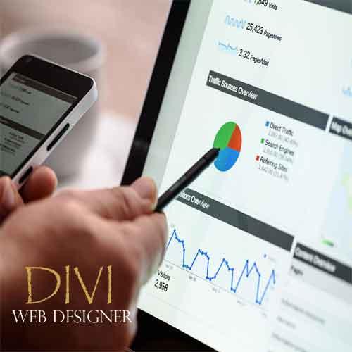 divi landing page design product image