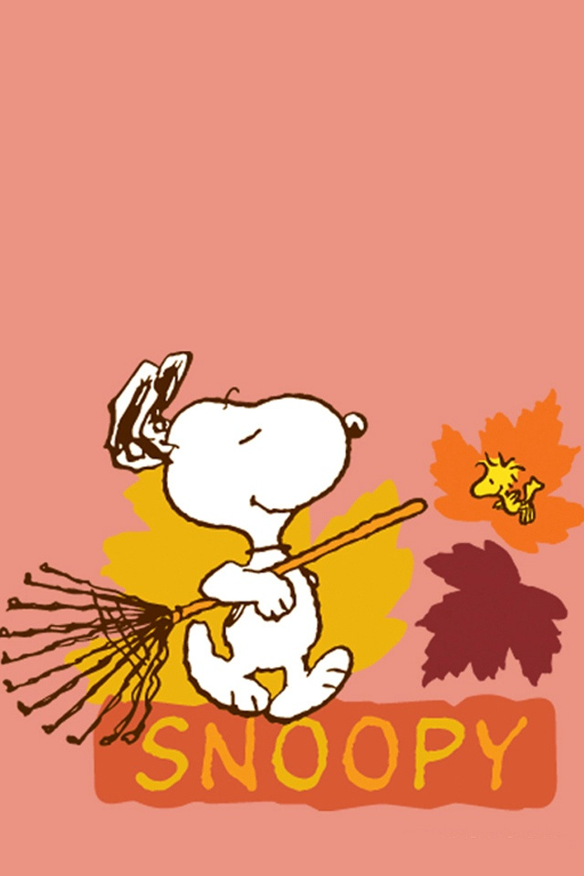 Thanksgiving Fall Wallpaper スヌーピー (秋ver) Iphone壁紙ギャラリー