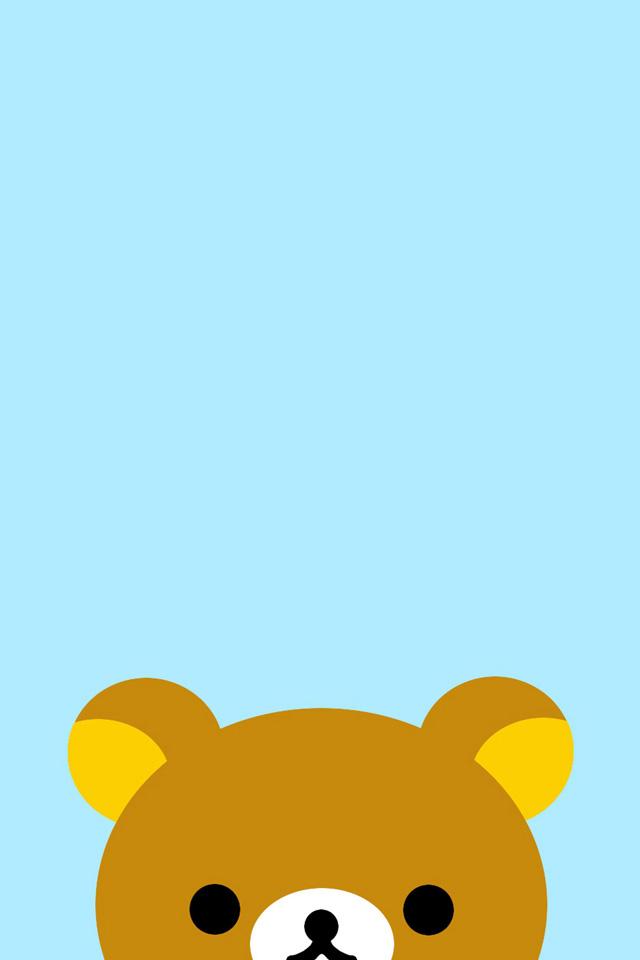 Cute Rilakkuma Bear Wallpaper リラックマ Iphone壁紙ギャラリー