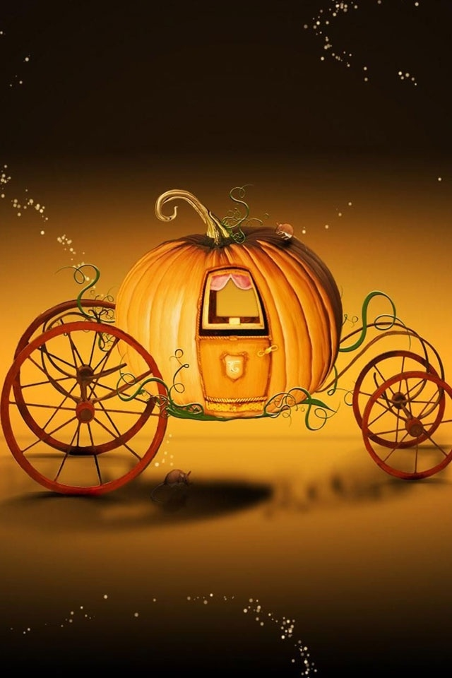Wallpaper Backgrounds Fall かぼちゃの馬車 Iphone壁紙ギャラリー