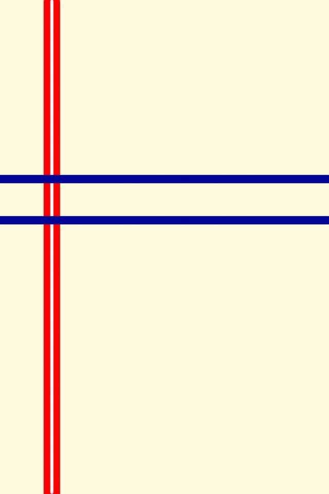 Mondrian Iphone Wallpaper Line 背景画像 シンプル
