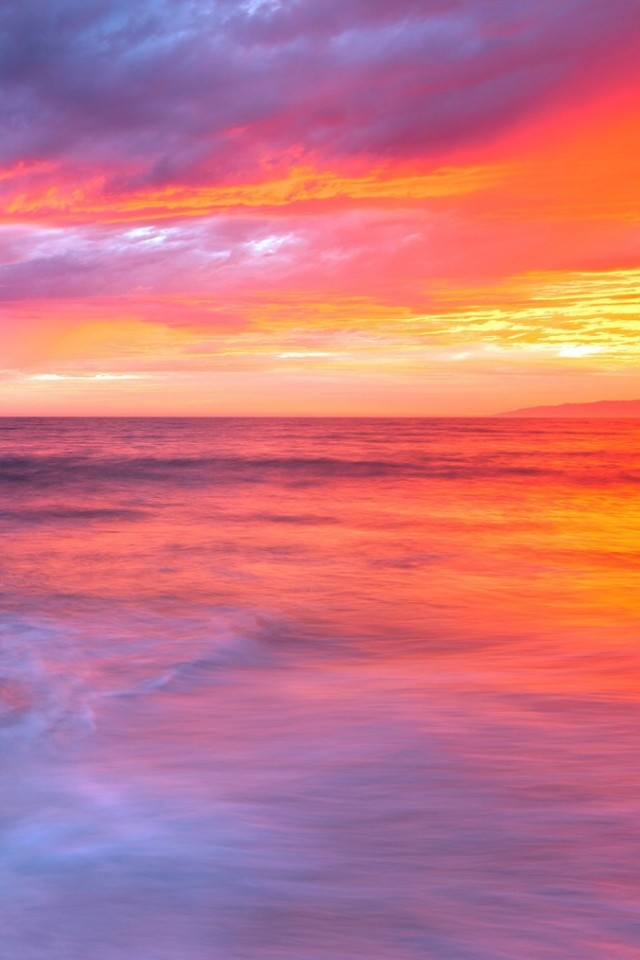 Cute Nautical Wallpaper 夕焼けと海の美しいグラデーション Iphone壁紙ギャラリー