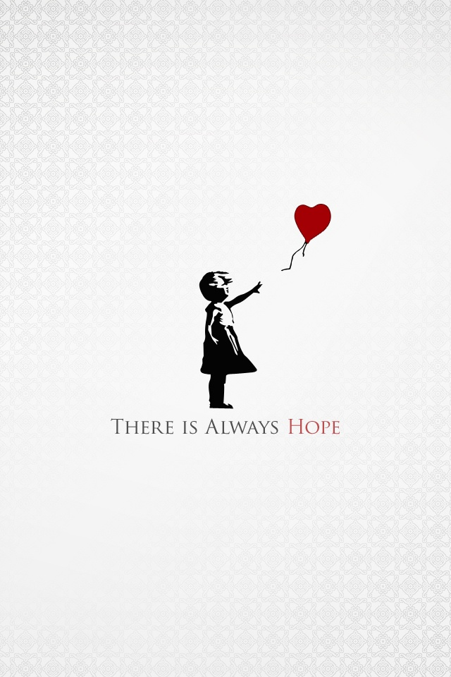 Banksy Balloon Girl Wallpaper 【人気5位】 Quot There Is Always Hope Quot イラスト壁紙 Iphone壁紙ギャラリー