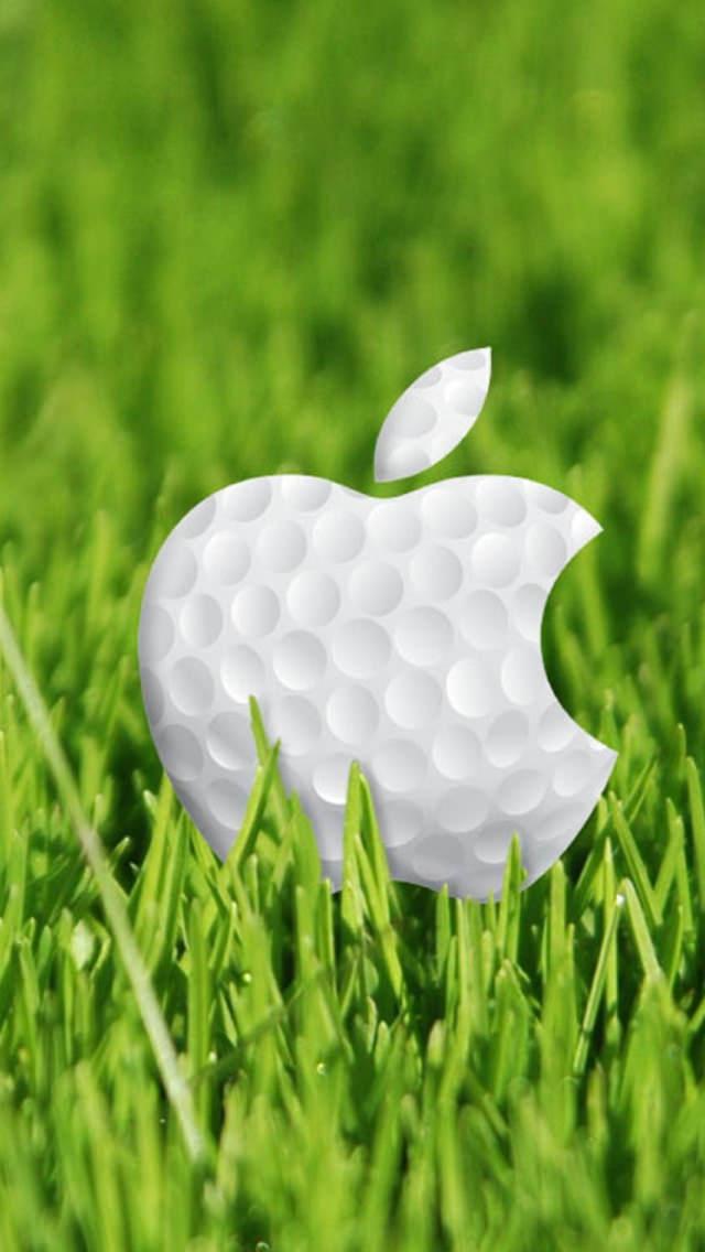Ipad Pro Wallpaper Hd Appleマークのゴルフボール スマホ壁紙 Iphone待受画像ギャラリー