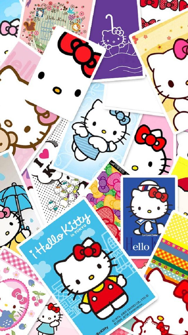 Cute Pink Wallpapers For Samsung Galaxy Y キティちゃんの切手 スマホ壁紙 Iphone待受画像ギャラリー